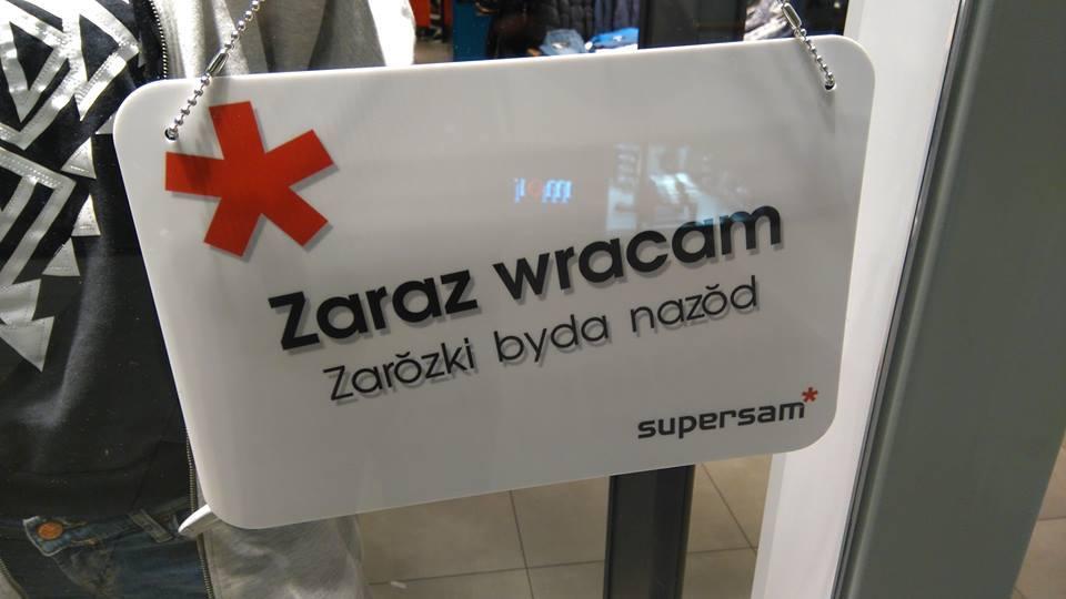 Supersam Katowice - śląskie zawieszki w sklepach