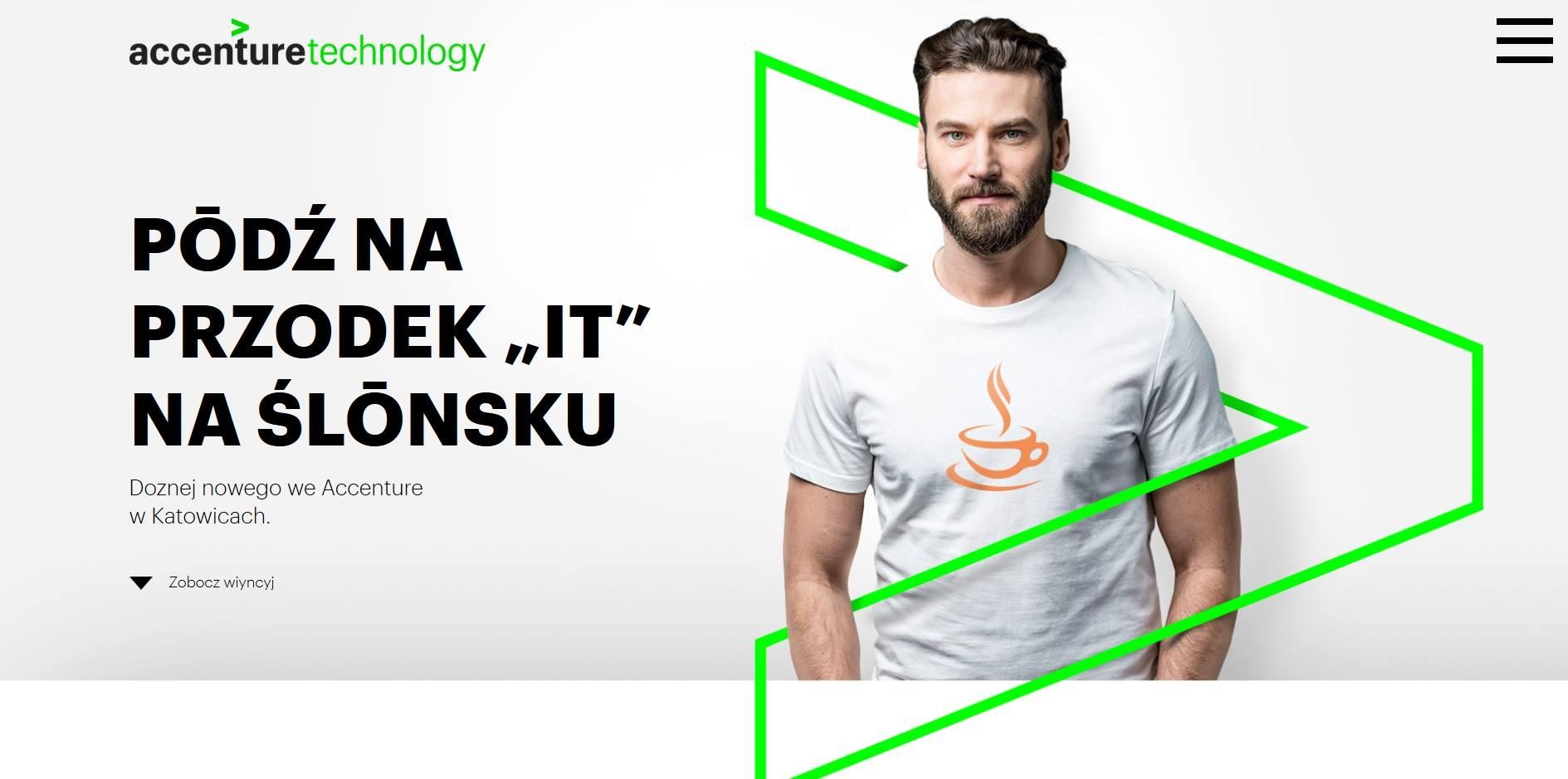 Accenture po śląsku